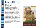 beloved dearly cooney