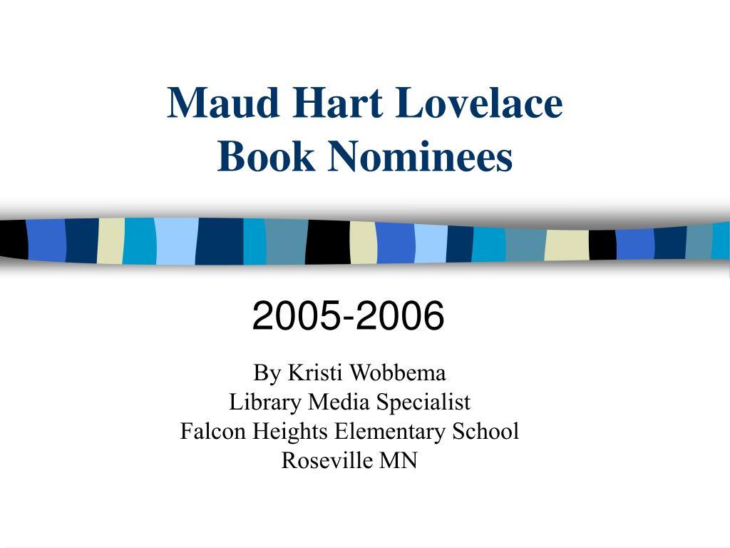 maud hart lovelace book nominees l.