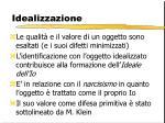 idealizzazione