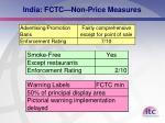 india fctc non price measures