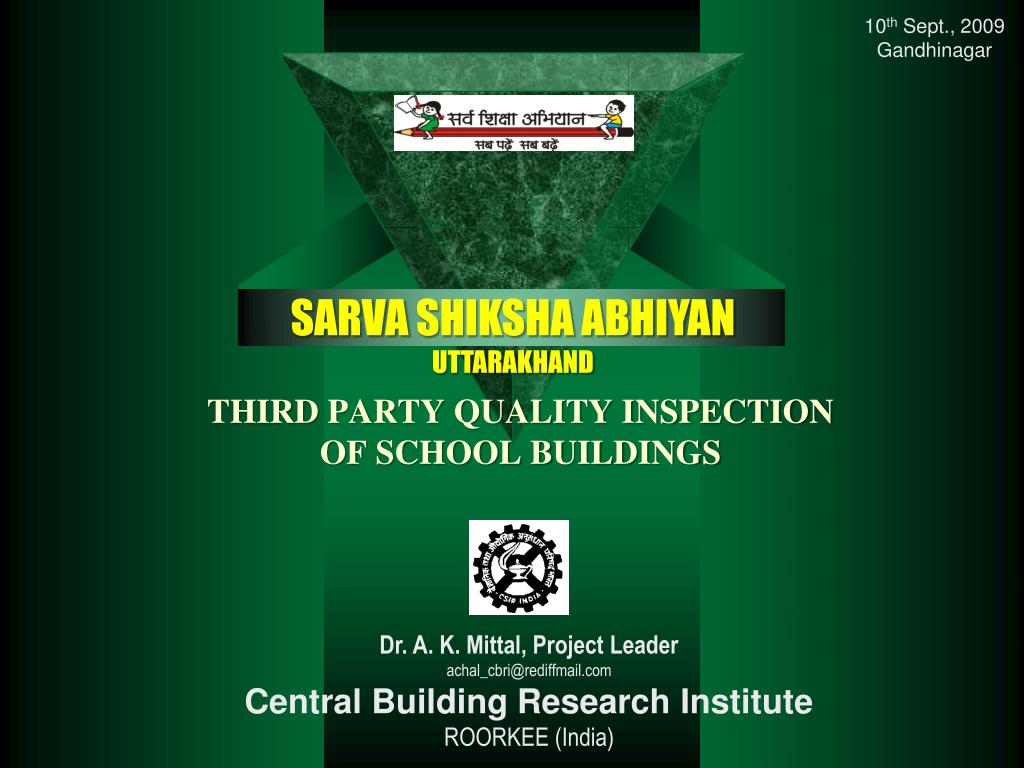 third party quality inspection of school buildings l.