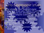 auto independent study