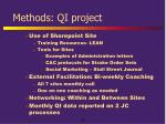 methods qi project