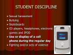 student discipline7