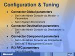 configuration tuning