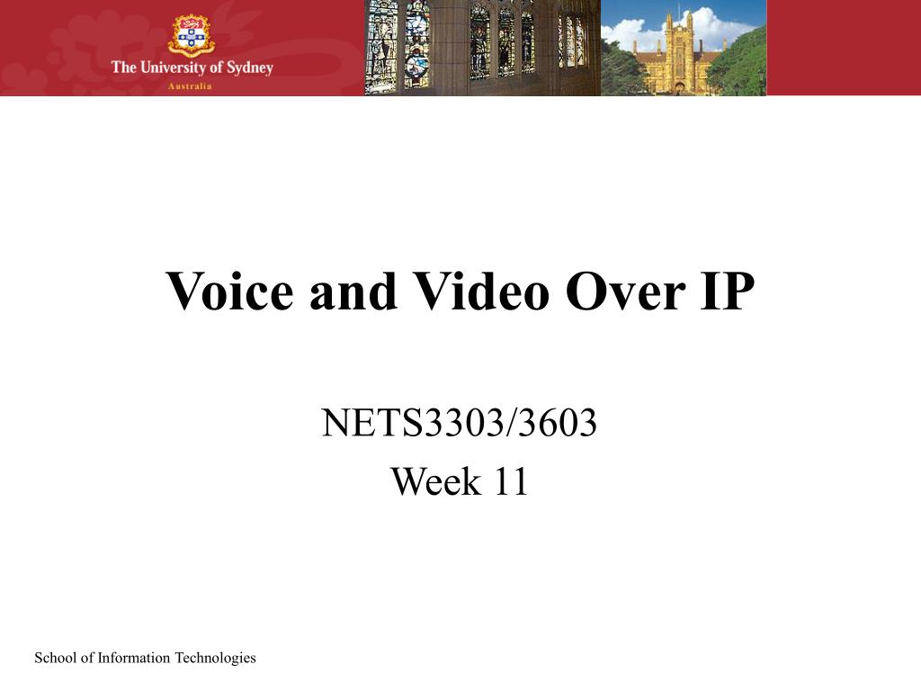 voice and video over ip l.
