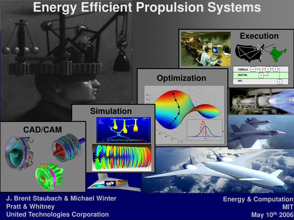 energy efficient propulsion systems l.