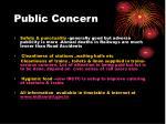 public concern16