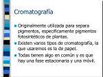 cromatograf a