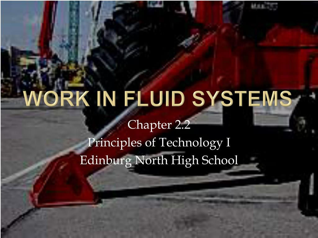 work in fluid systems l.