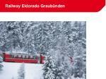 railway eldorado graub nden19