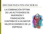 decisiones financieras38
