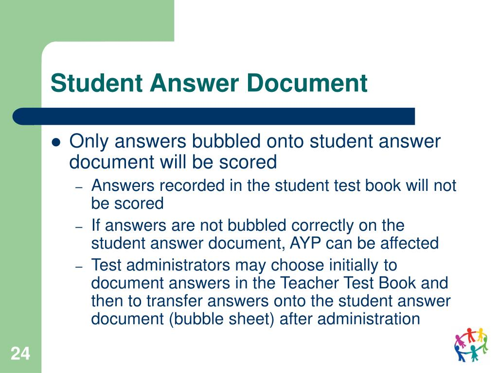 Student Answer Document