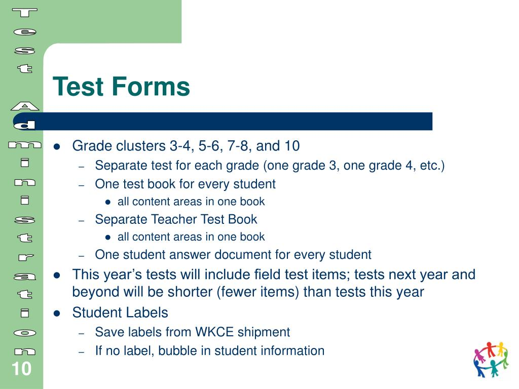 Test Forms