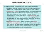 die protokolle von jxta 2