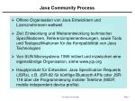 java community process