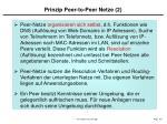 prinzip peer to peer netze 2