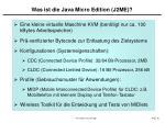 was ist die java micro edition j2me