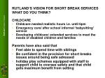 rutland s vision for short break services what do you think5