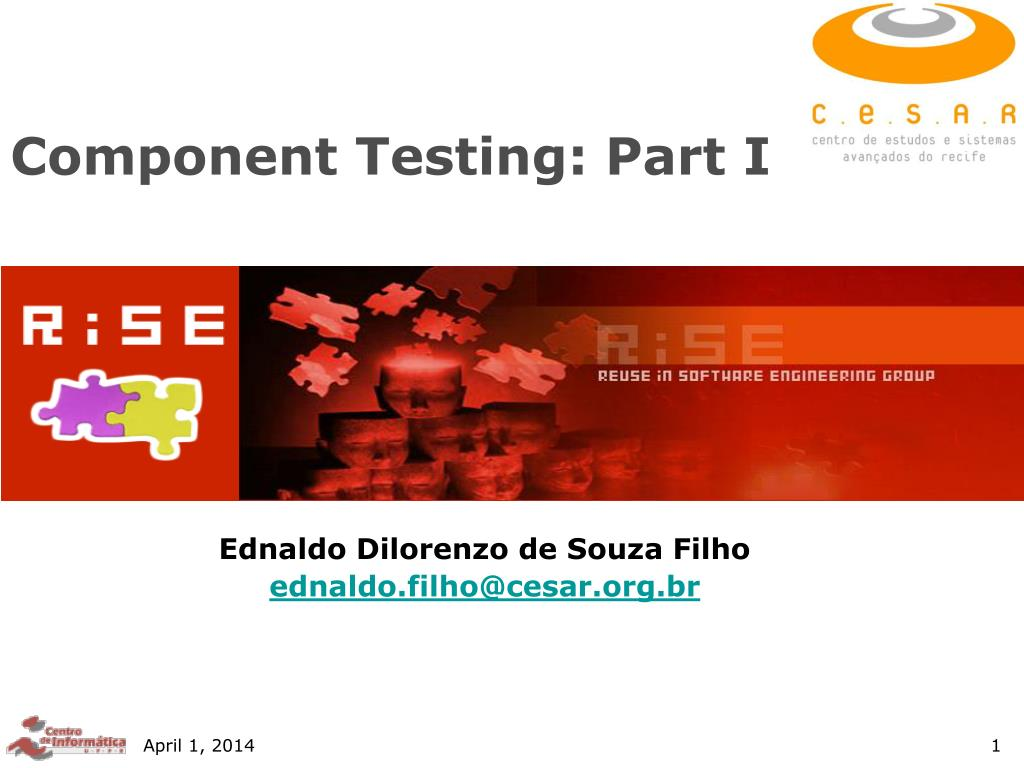 component testing part i l.