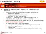 component testing35
