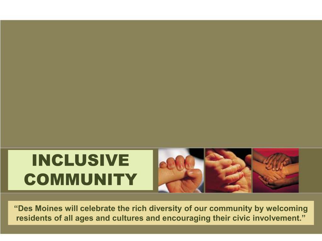 inclusive community l.