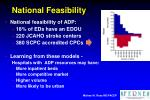 national feasibility