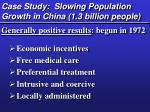 case study slowing population growth in china 1 3 billion people