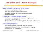von eicken et al active messages