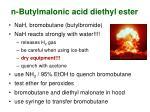 n butylmalonic acid diethyl ester33