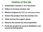 outline of the lab