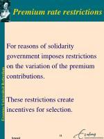 premium rate restrictions