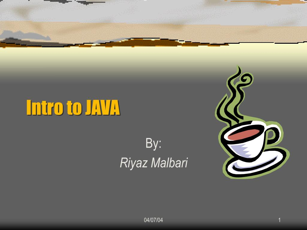 intro to java l.
