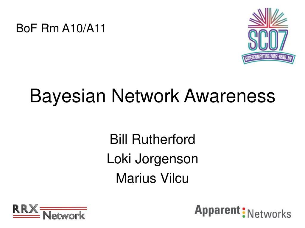 bayesian network awareness l.