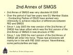 2nd annex of smgs