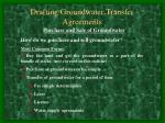 drafting groundwater transfer agreements15
