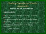 drafting groundwater transfer agreements16