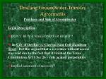 drafting groundwater transfer agreements20