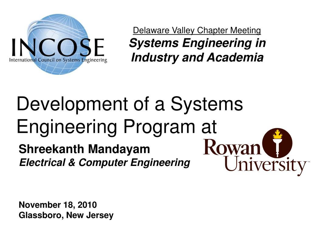 development of a systems engineering program at l.