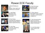 rowan ece faculty