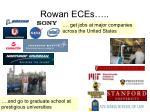 rowan eces