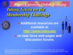 taking action on the membership challenge37