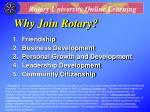 why join rotary26