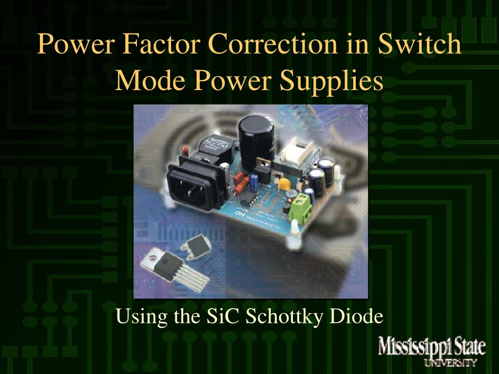 power factor correction in switch mode power supplies l.