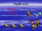 dopl text