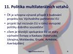 11 politika multilater ln ch vztah26