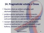14 pragmatick vztahy s nou32