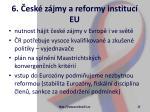 6 esk z jmy a reformy instituc eu