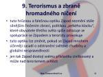 9 terorismus a zbran hromadn ho ni en21