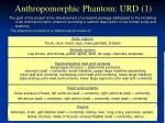 anthropomorphic phantom urd 1